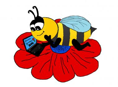 Witamy Na Blogu - poznaj Pszczołę Pierdołę naszą bohaterkę